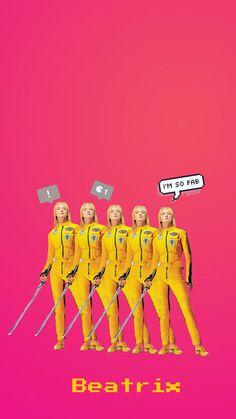#filmes #killbill #beatrixkiddo #yellow #classic #umathutman #tarantino