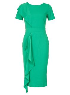 Feverfish Jade Frill Crepe Bodycon Dress - Robes - Vêtements - Dorothy  Perkins France 4c696403970