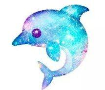 A galaxy 🌌 dolphin 🐬/Emoji so pretty! Emoji Drawings, Cute Drawings, Animal Drawings, Emoji Wallpaper, Tumblr Wallpaper, Wallpaper Backgrounds, Png Tumblr, Cute Emoji, Anime Kawaii