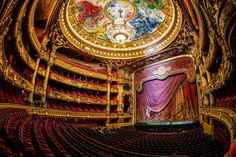At the Palais Garnier, a world famous symbol of Paris. Built in the century and named after its architect Charles Garnier - it is home to the Paris Opera. Paris Bucket List, Ravensburger Puzzle, Marc Chagall, Artist Chagall, Monuments, Paris France, Charles Garnier, Paris Opera House, Hdr Photography