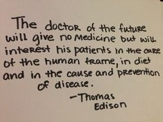 The doctor of the future will give no medicine .....#quotes #homeopathy