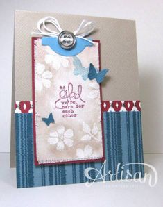 Bloomin' on Canvas by cindybstampin -