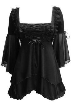 Dare To Wear Victorian Gothic Women's Plus Size Fairy Tale Corset Top Black up to 5x Dare to Wear,http://www.amazon.com/dp/B009TAIC66/ref=cm_sw_r_pi_dp_ipVRqb1AZZY9EWQ7