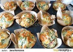 Velikonoční muffiny na slano recept - TopRecepty.cz