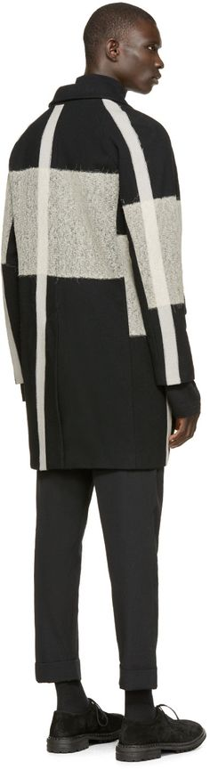 #Farbbberatung #Stilberatung #Farbenreich mit Song for the Mute Black & Beige Wool Coat