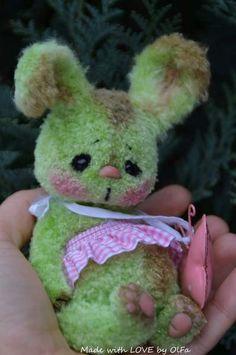 Bunny Apple Sweetness By OlFa - Bear Pile