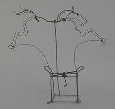 Galloping-horse-wire-animation-automata-Horse-racing-Equestrian