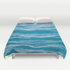 OH, OCEAN Duvet Cover