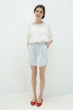 Tee shirt Tricia Blanc