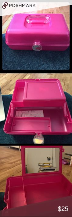 Pink Caboodle Makeup carrier. Brand new. Throwback. caboodles Other