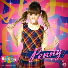 (18) Hairspray Live! (@HairsprayLive) | Twitter 07Dec16 - Penny has never been more pop than this. Welcome to #HairsprayLive, @ArianaGrande!