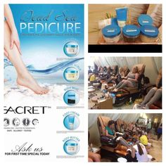 Seacret Direct - the new wave for spa pedicures and reflexololgy!  ~SEACRET~