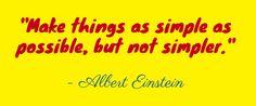 Inspiration - Einstein