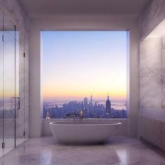 Amazing bathroom and view....