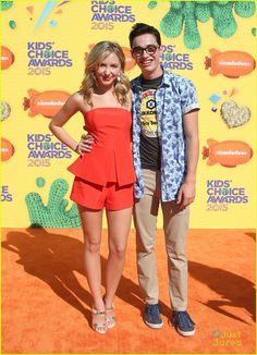 Dove Cameron Had To Leave KCAs 2015 Early Because She Twisted Her Ankle!: Photo Dove Cameron sticks close to her hunky boyfriend Ryan McCartan at the 2015 Kids' Choice Awards held at The Forum in Los Angeles on Saturday afternoon (March Joey Bragg, Ryan Mccartan, Disney Couples, Just Jared, Girl Meets World, Dove Cameron, Celebs, Celebrities, Disney Channel