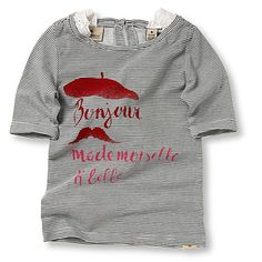 "shirt i'd wear: SCOTCH R'BELLE  shirt ""bonjour mademoiselle"""