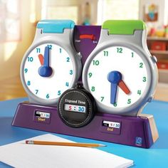 Educational Insights 1724 Watch It Elapsed Time Clock - List price: $42.38 Price: $32.60 Saving: $9.78 (23%)
