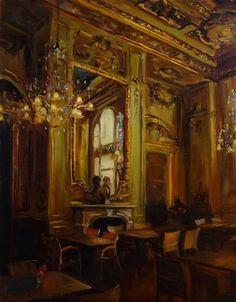 """""""Louvre Cafe"""" - Jonelle Summerfield"""