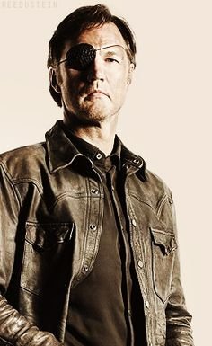 David Morrissey - 'The Governor ' from The Walking Dead.  What an S.O.B !!!  Getting eaten by a walker would be TOO good for him!!