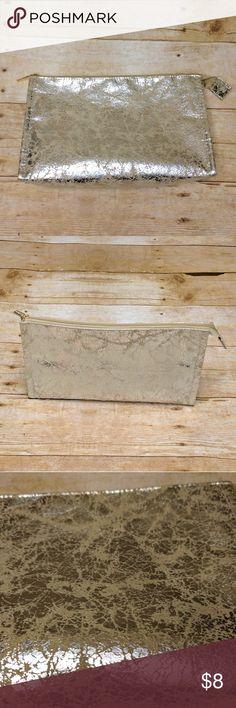 Sephora Makeup Bag SALE   Sephora Makeup Bag * EUC * Metallic detailing * 10 L x 7 H x 2 W Sephora Bags