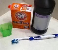 DIY Teeth Whitner - Use a little toothpaste, mix in one teaspoon baking soda plus one teaspoon of hydrogen peroxide, half a teaspoon water. Thoroughly mix then brush your teeth for two minutes. Remember to do it once a week until you have reached the results you want. Once your teeth are good and white, limit yourself to using the whitening treatment once every month or two.