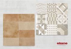 Bloco Cotto + Essence Decor Neutro #revestimento #piso #azulejo #porcelanato #tile