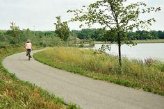 Millennium Park; Grand Rapids, MI -- fabulous trails for biking; love it!
