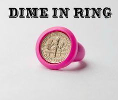 Dime in Ring #gaggif