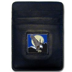 """Checkout our #LicensedGear products FREE SHIPPING + 10% OFF Coupon Code """"Official"""" Money Clip/Cardholder - Flying Eagle - Officially licensed Siskiyou Originals product Genuine fine grain leather wallet Credit card slots Magnetic money clip that will not damage your cards Metal  emblem with enameled team colors - Price: $22.00. Buy now at https://officiallylicensedgear.com/money-clip-cardholder-flying-eagle-sch21"""