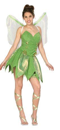 adult tinkerbell fairy costume - Green Fairy Halloween Costume