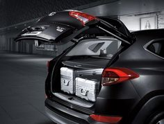 Select 2016 Hyundai models offer a Smart Power Liftgate/Trunk that enables an owner to activate a power opening feature by simply standing for a few seconds at the rear of the vehicle with the key in his or her pocket or purse.