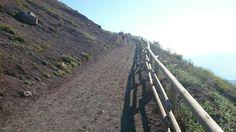 Climbing to the top (Vesuvius)