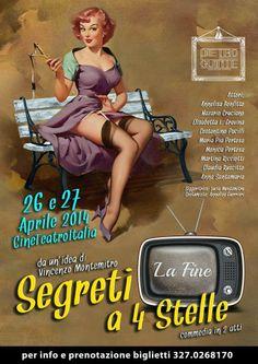Tutto Per Tutti: SPETTACOLI - 26 e 27 APRILE 2014 - SEGRETI A 4 STE...