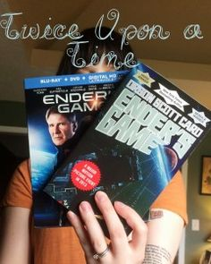 Twice Upon a Time: Book to Film Adaptations #EndersGame #BookReview #CommonRoomPC