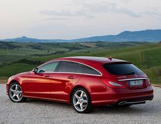 Sexiest station wagon ever - Mercedes CLS500