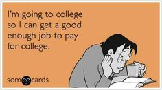It pays to be prepared! Start a 529 #collegesavings plan so you don't end up like this guy.