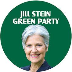 Jill Stein Green Party President Button