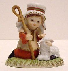 Vintage Baby Jesus Homco Nativity Figurine Home Interior