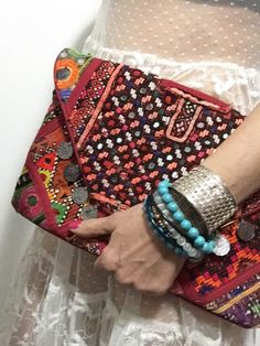 A personal favourite from my Etsy shop https://www.etsy.com/au/listing/459587058/vintage-clutch-bag-banjara-clutch-bag
