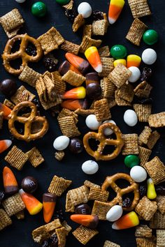 pumpkin spice chex party mix