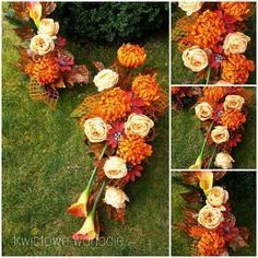 Sprawdź, co stworzyłem z Grave Decorations, Picsart, Diy And Crafts, Floral Wreath, Wreaths, Fall, Flowers, Plants, All Saints Day