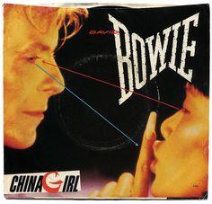 China Girl b/w Shake It. David Bowie, EMI America Records/USA (1983)