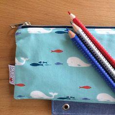 Stiftemäppchen Fische