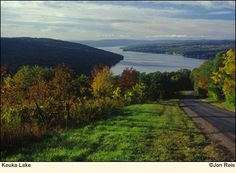Keuka Lake, Finger Lakes, NY - one of the most peaceful and wonderful places I've been. Lots of good memories.