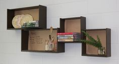 Welcome to the world of upcycling, where we turn other people's trash into treasure. Green Ideas brings you fresh upcycling ideas each issue, like these nifty kitchen shelves made from an old set of drawers.