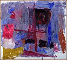 Guston, Philip   Painter III, 1960  60 3/4 x 68 1/8 inches (154.1 x 172.8 cm.)  Oil on canvas