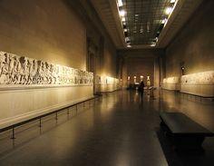 A qui appartient la culture ?    La Grèce réclame depuis 1982 à la Grande Bretagne un morceau de la frise du Parthénon. Le British Muséum détient en effet une très belle pièce depuis le début du 19ème siècle !