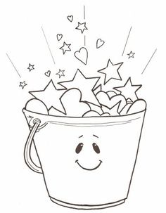 Fill Your Bucket on How Full Is Your Bucket Worksheet