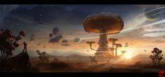 1300x614_15170_Fungus_Planet_2d_fantasy_mushrooms_landscape_airship_picture_image_digital_art.jpg (1300×614)