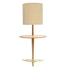 Edward Wormley for Dunbar Floor Lamp Table